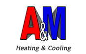 A&M Chicago Heating and Cooling Service Logo